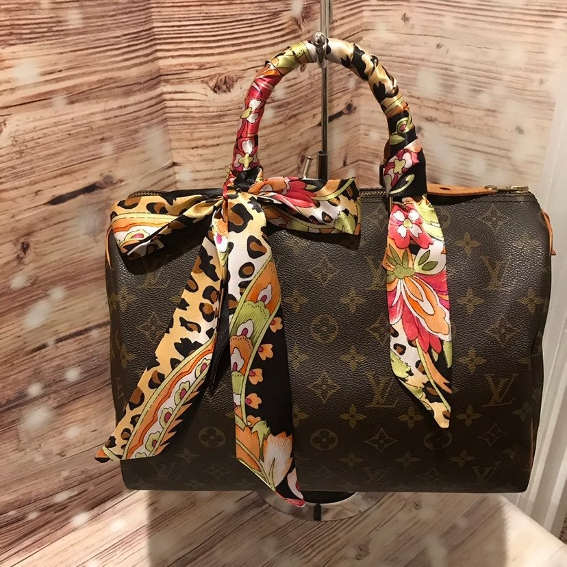 Two Twilly Purse Scarves