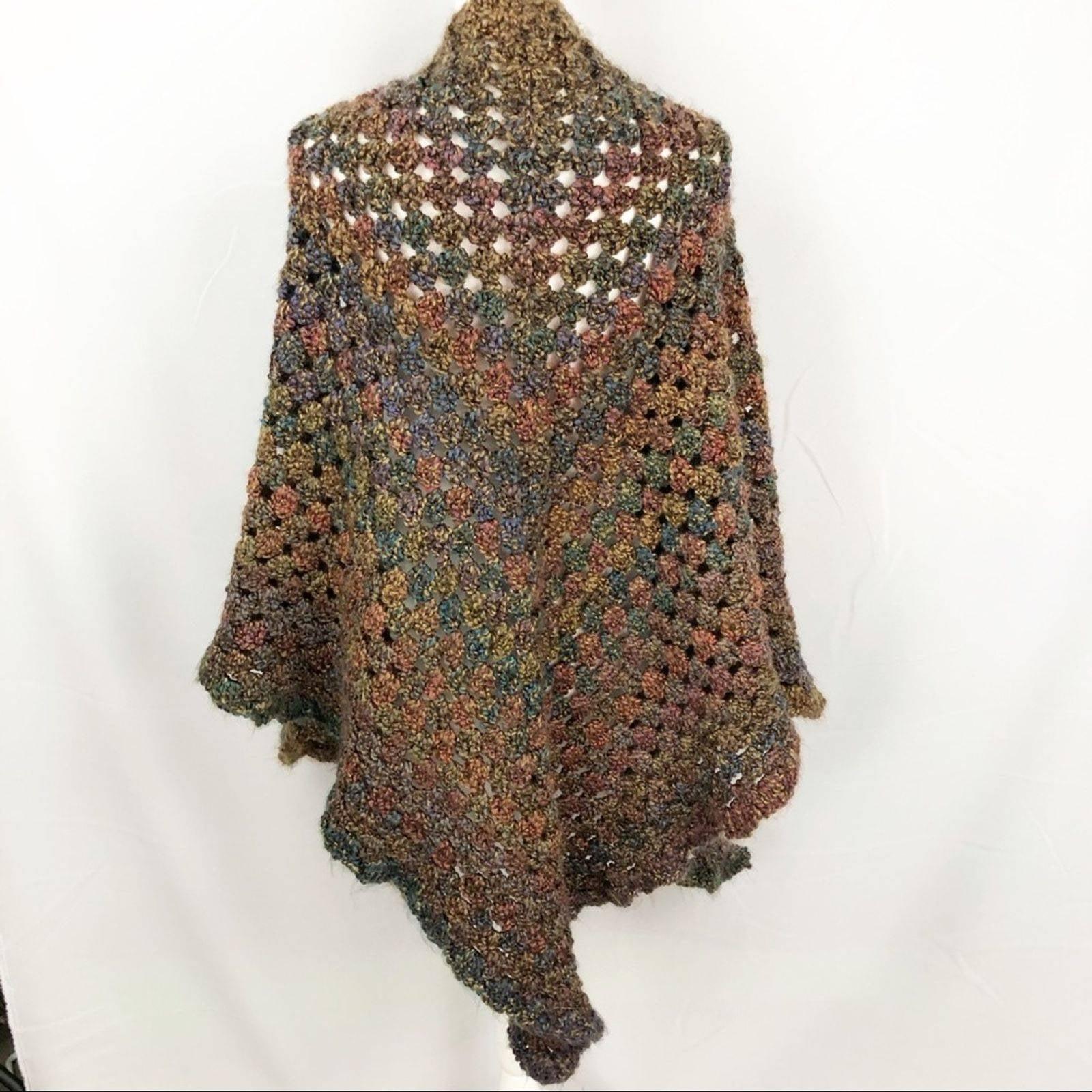 HANDMADE Crochet Triangle Shawl