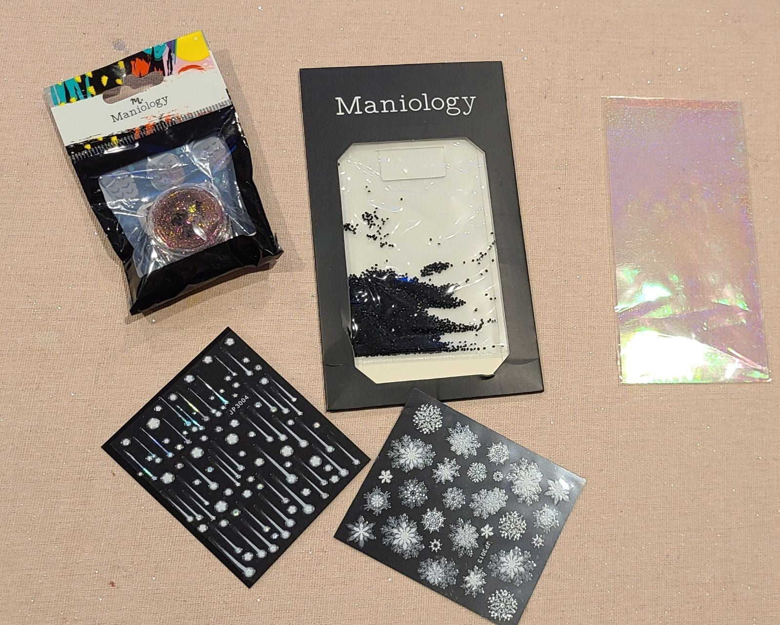 5 piece Maniology Nail art Accessories