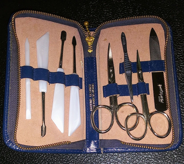 Austrian Leather Grooming Kit