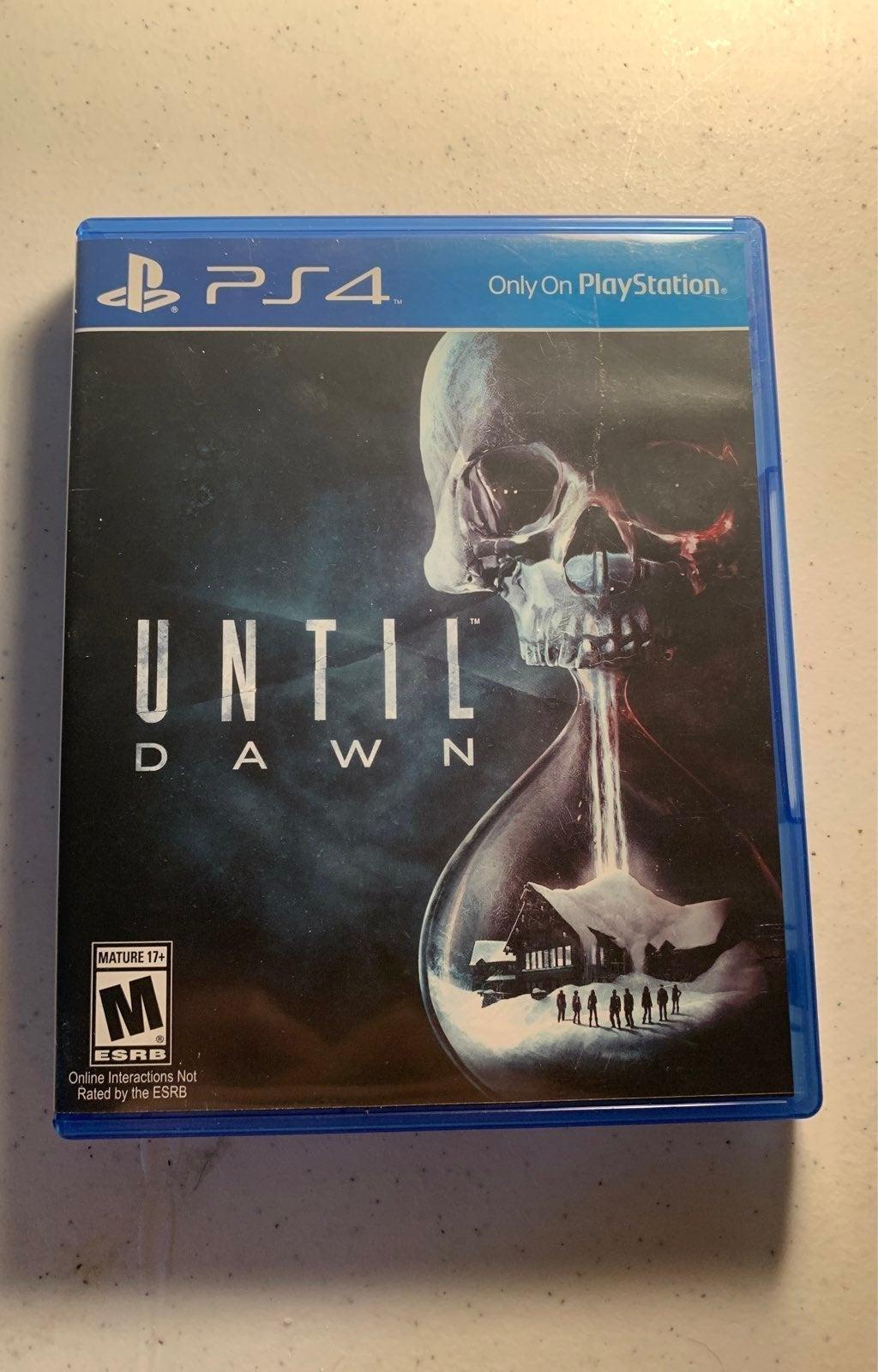 Until Dawn on Playstation 4