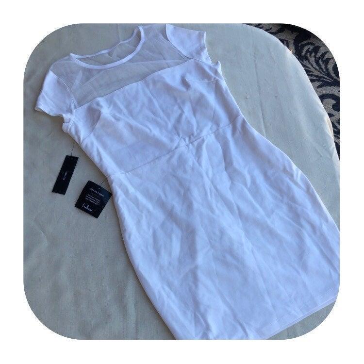 NWT Lulus white XL dress