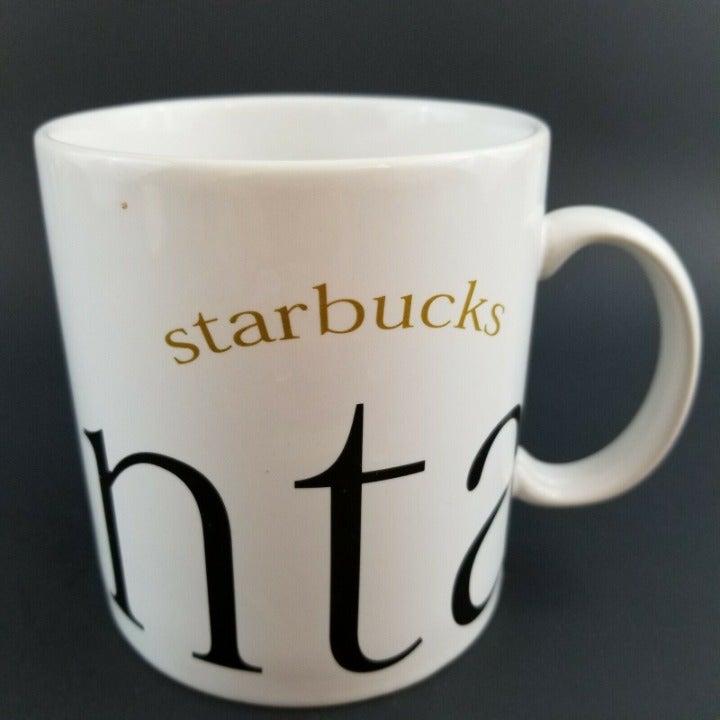 Vintage Starbucks Atlanta 1994 City Mug