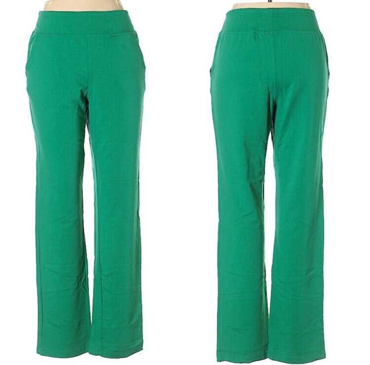 Quacker Factory Stretch Knit Pants S