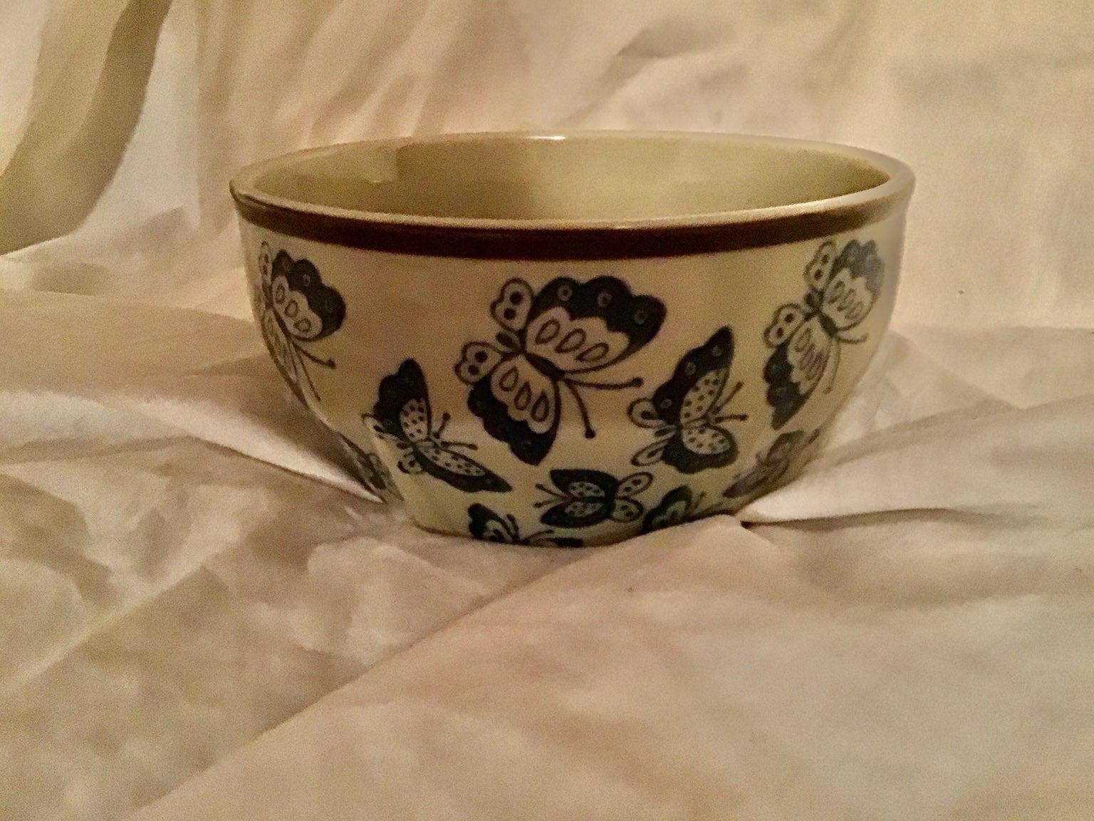 Butterfly Jewelry bedside Bowl