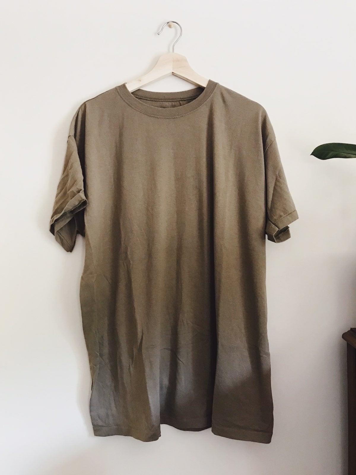 Military T-shirt Tan