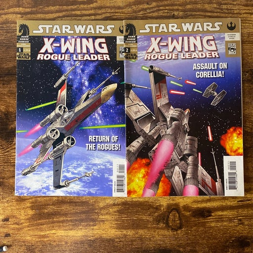 Star Wars X-Wing Rogue Leader issues 1&2