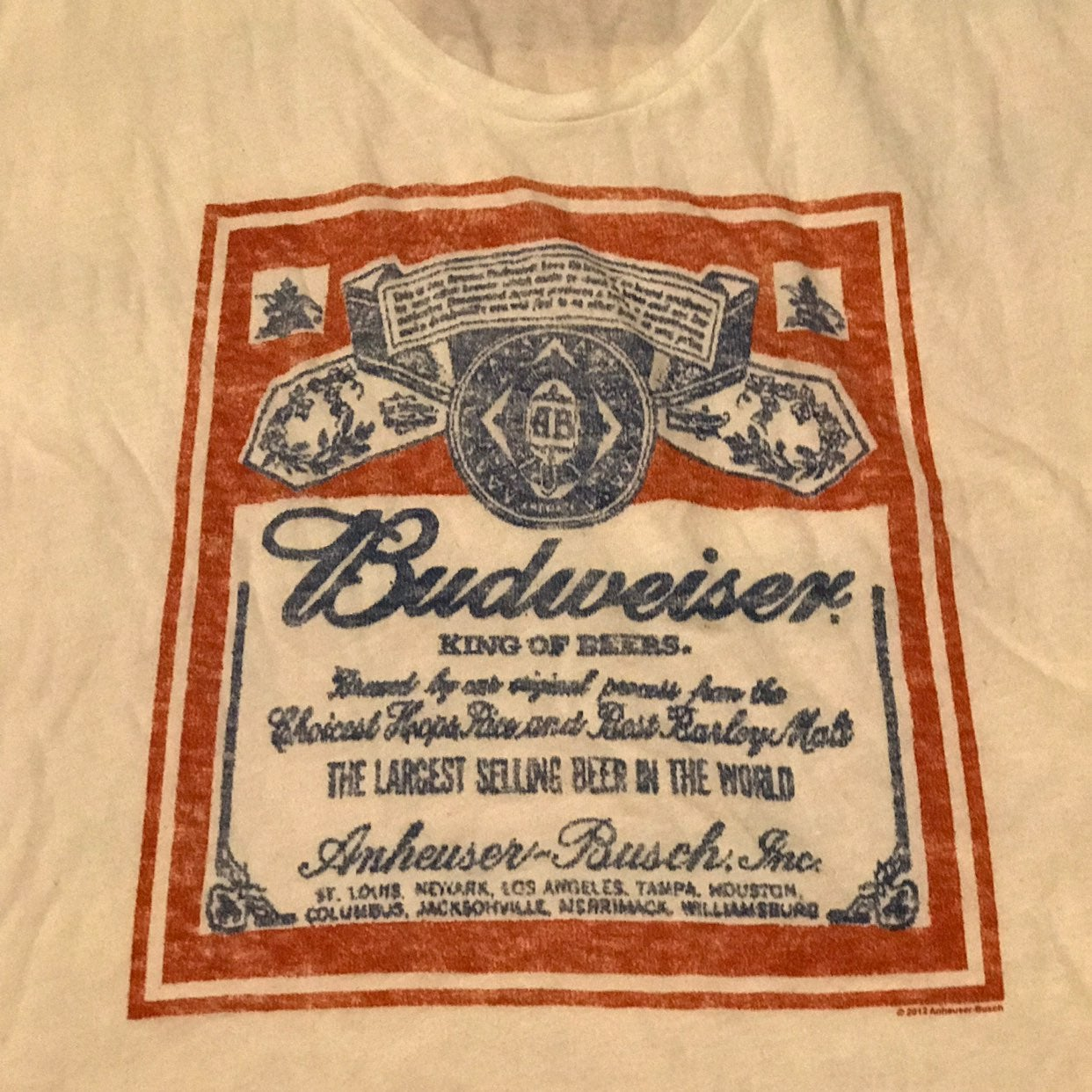 Budweiser Woman's Shirt