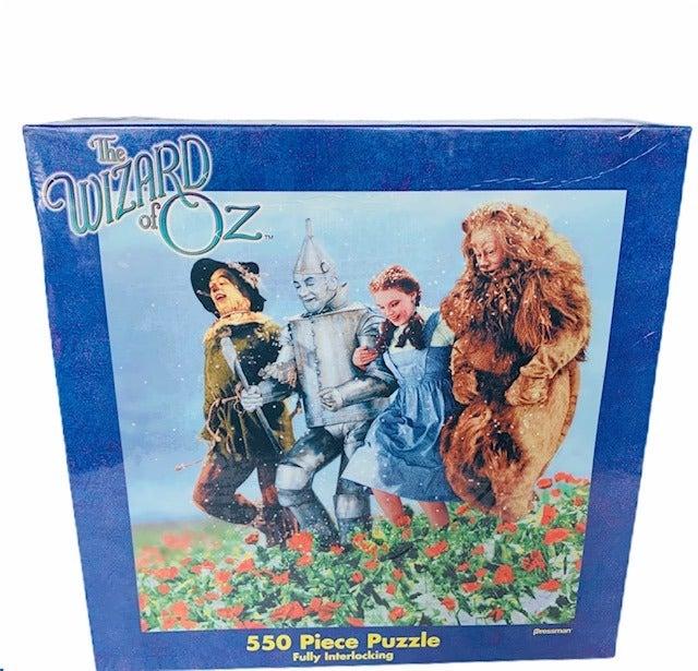 Wizard Oz 550 piece puzzle Dorothy Lion