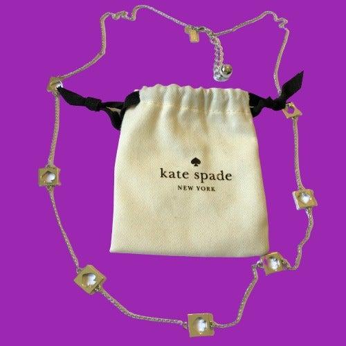 kate spade Silver Tone Long Necklace