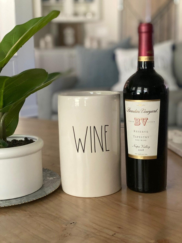 Rae Dunn Wine holder