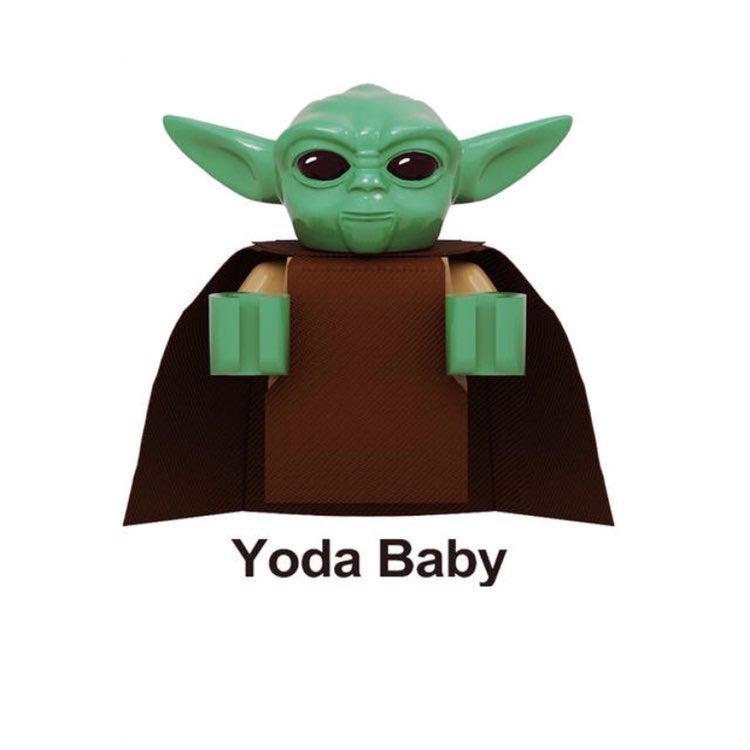 """Baby Yoda """"The Child"""" & Mandalorian LEGO"""