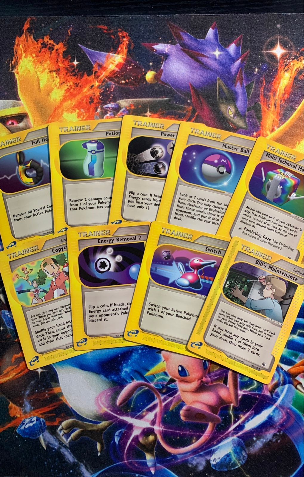 Pokemon Cards Expedition Trainer Lot