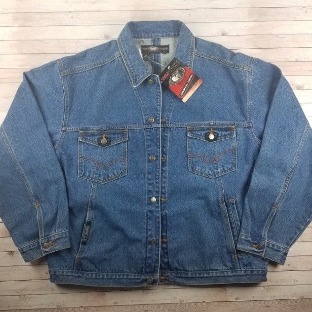 New VTG 90s Wu-Tang WuWear Denim Jacket
