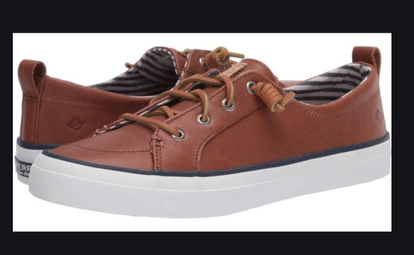 Sperry Crest Vibe leather top sider 8