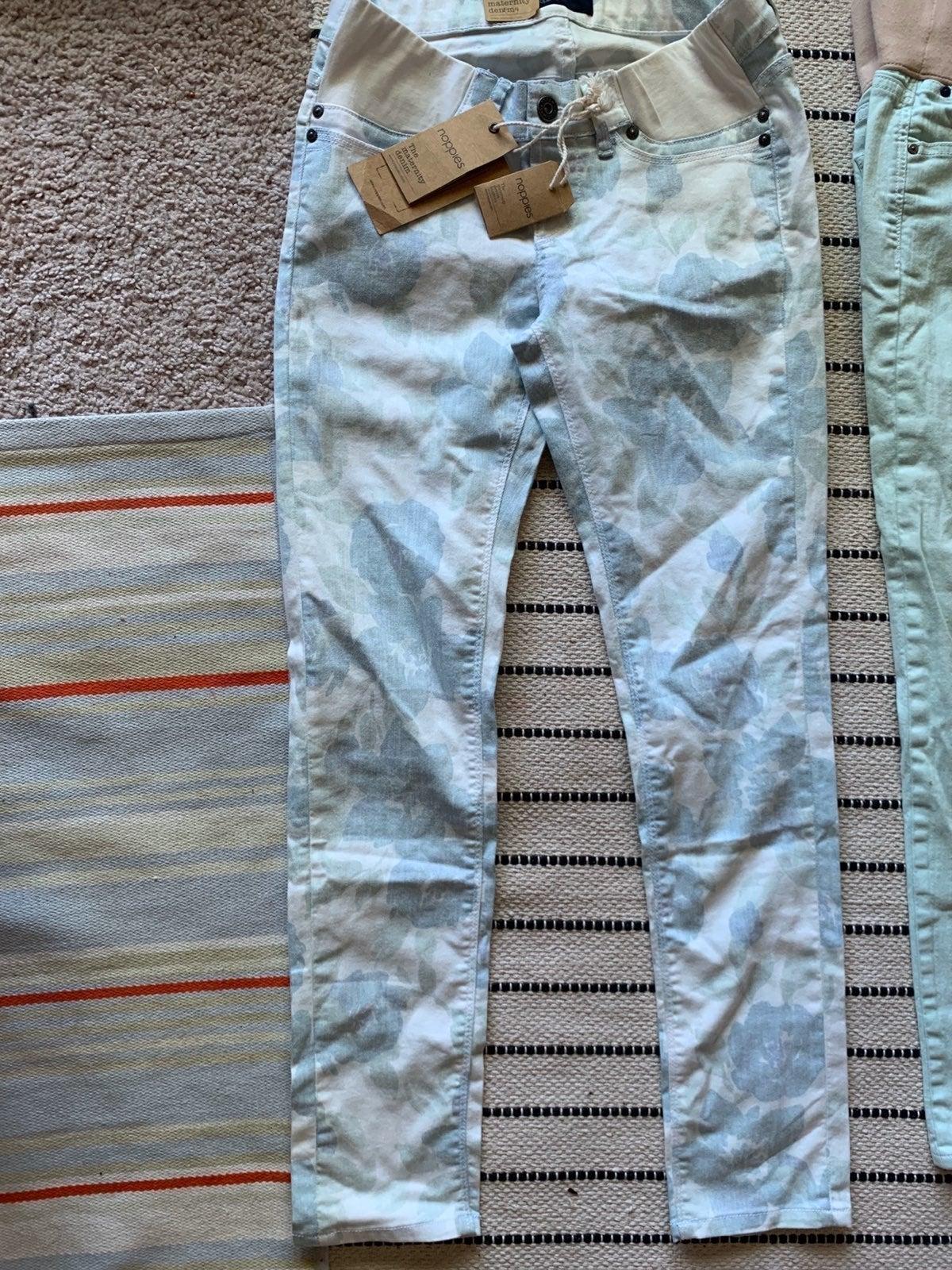 Maternity bundle 4 pastel jeans size 27