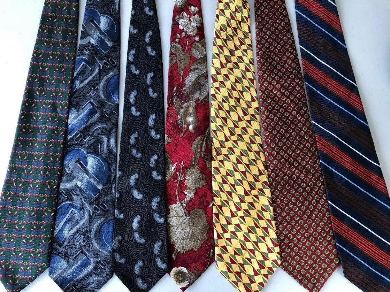 Designer Tie Lot x7