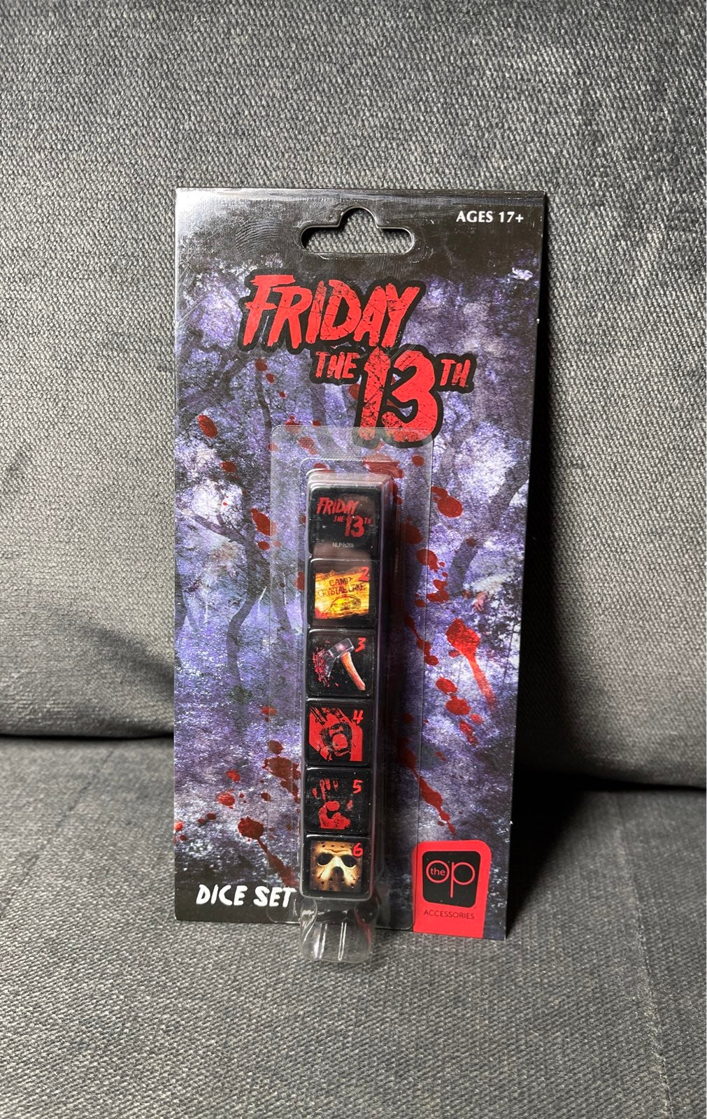 Friday the 13th Jason Voorhees Dice