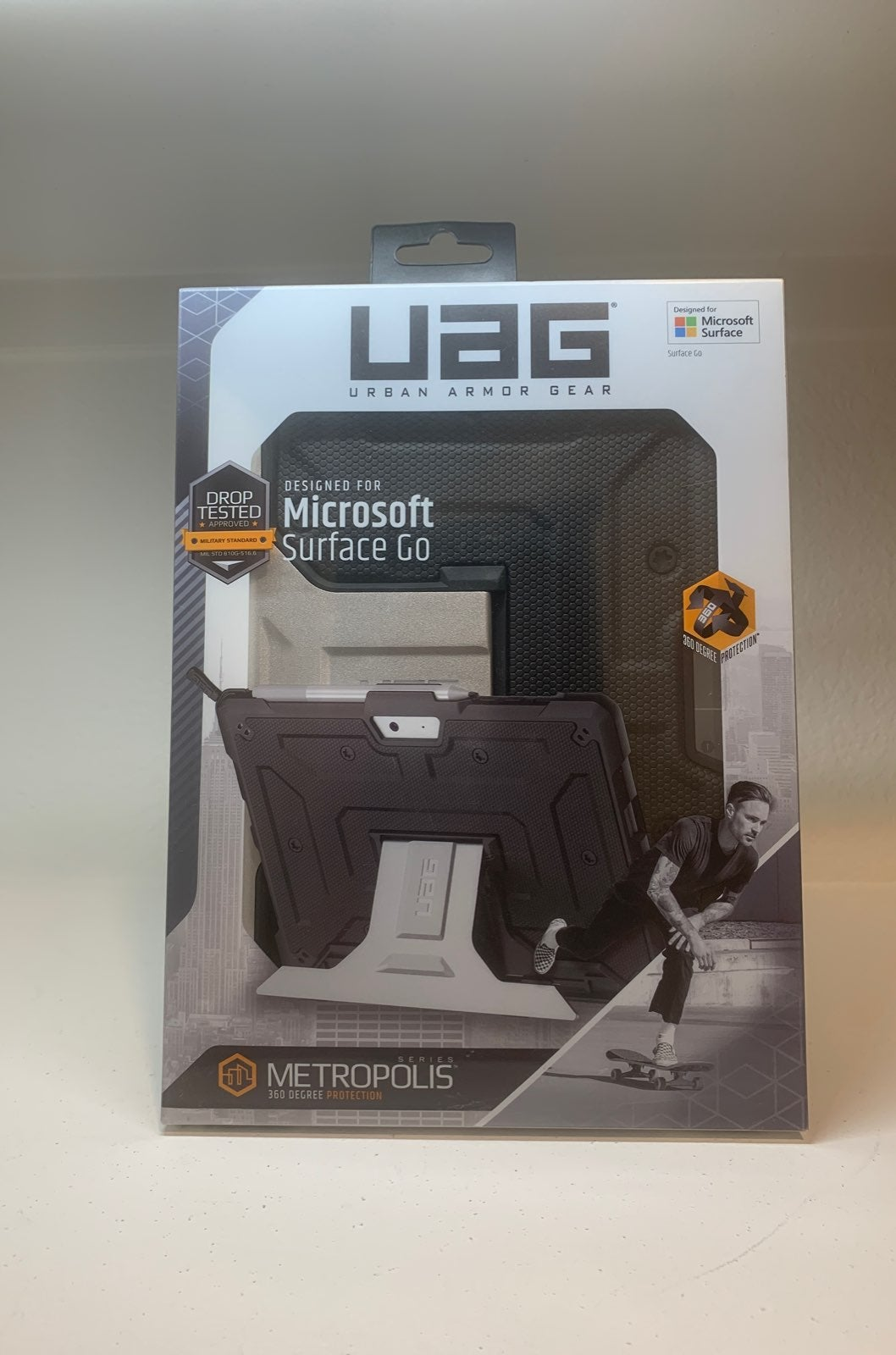 UAG Microsoft Go Case with Metal Stand