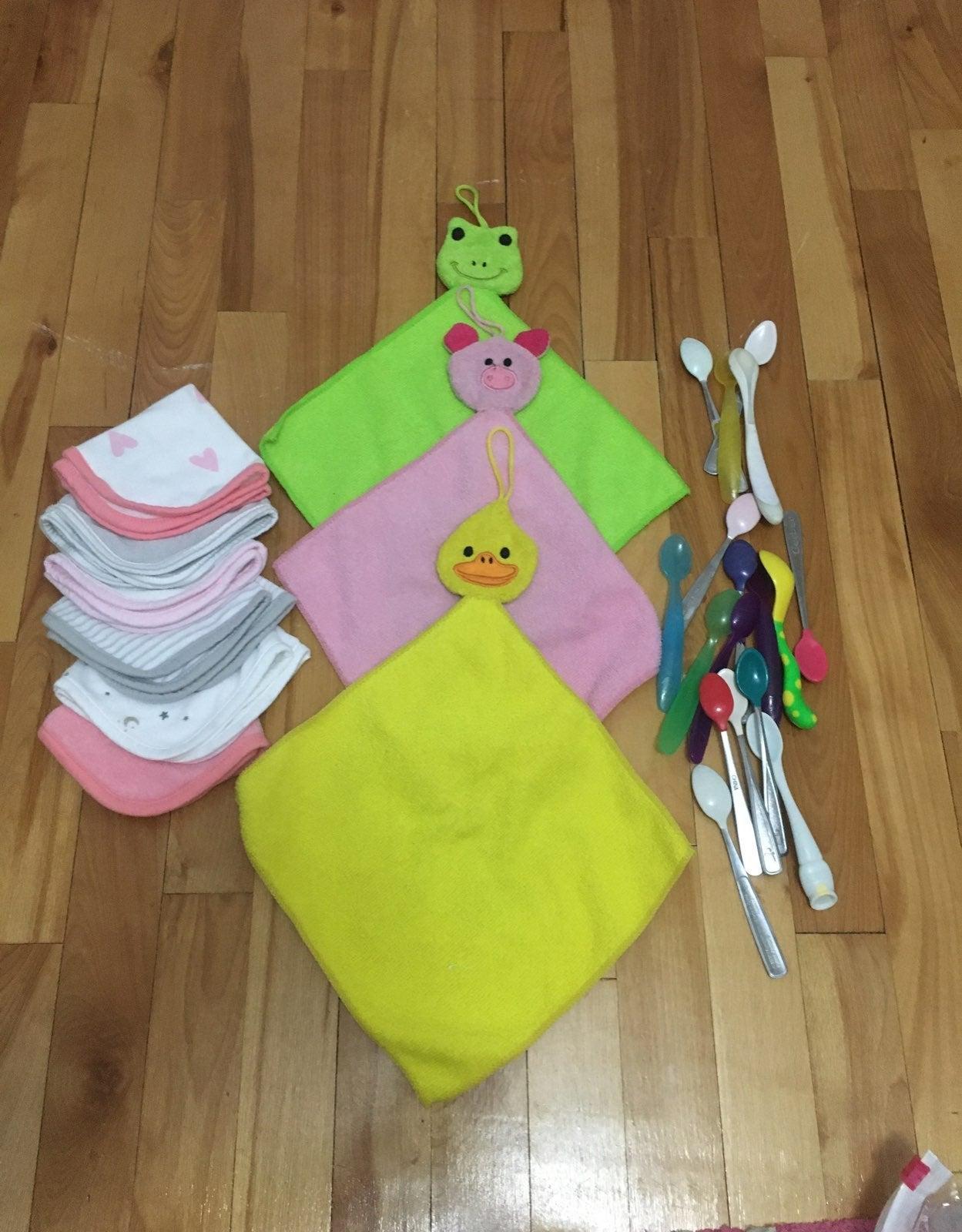 Baby wash clothes