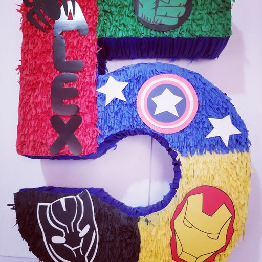 Handmade Avengers Piñata