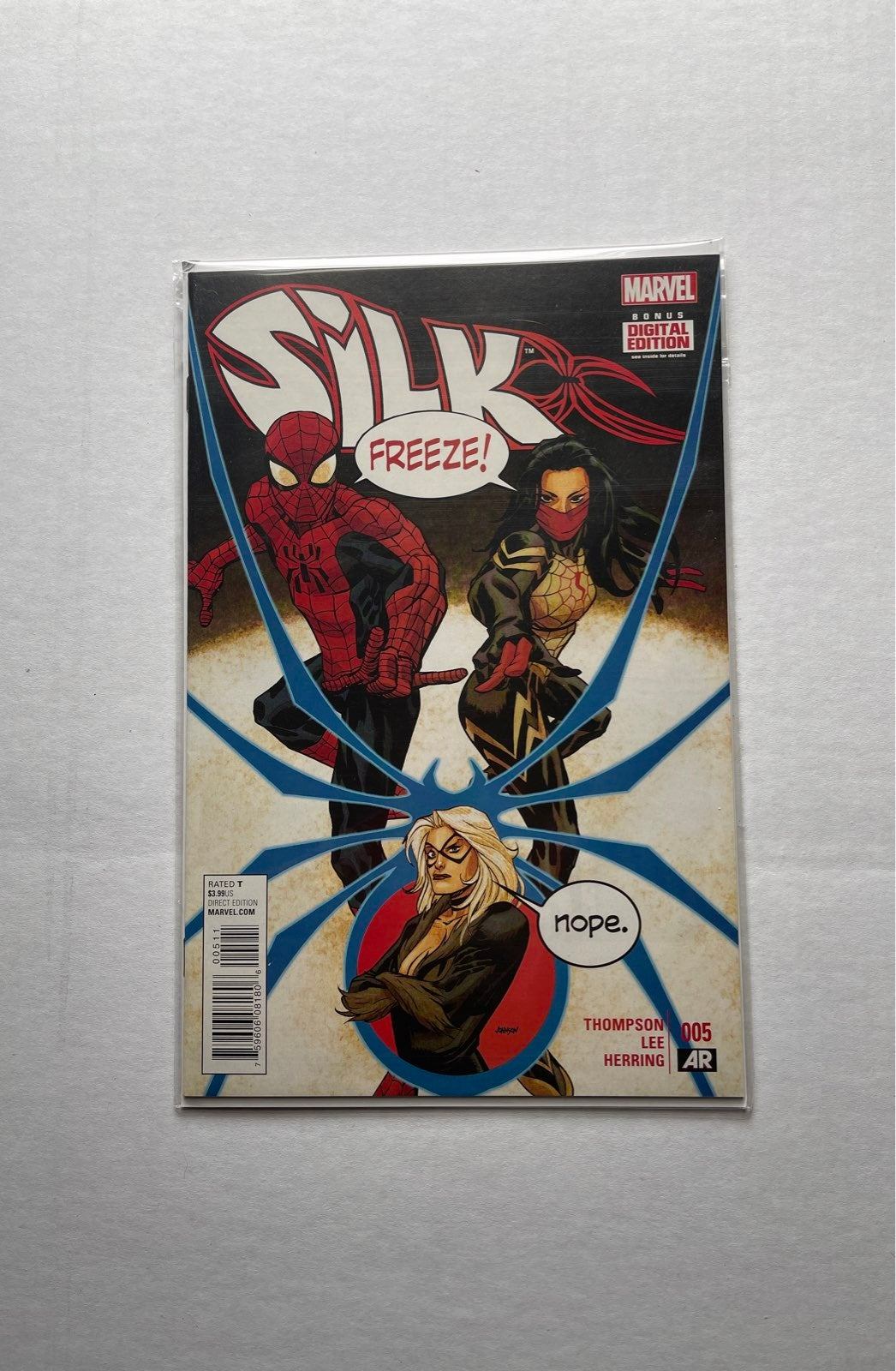 Silk #005 Comic Book Mint Condition