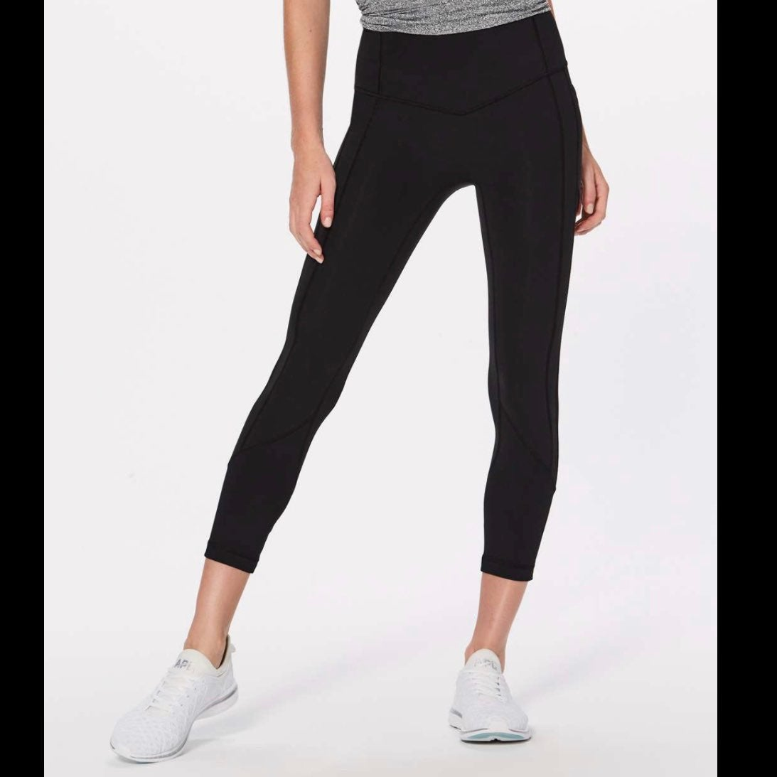 lululemon all the right places crop 12