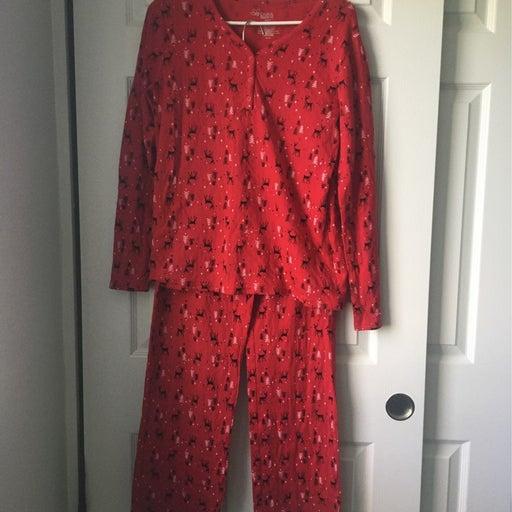 His & Hers Christmas Pajama Set