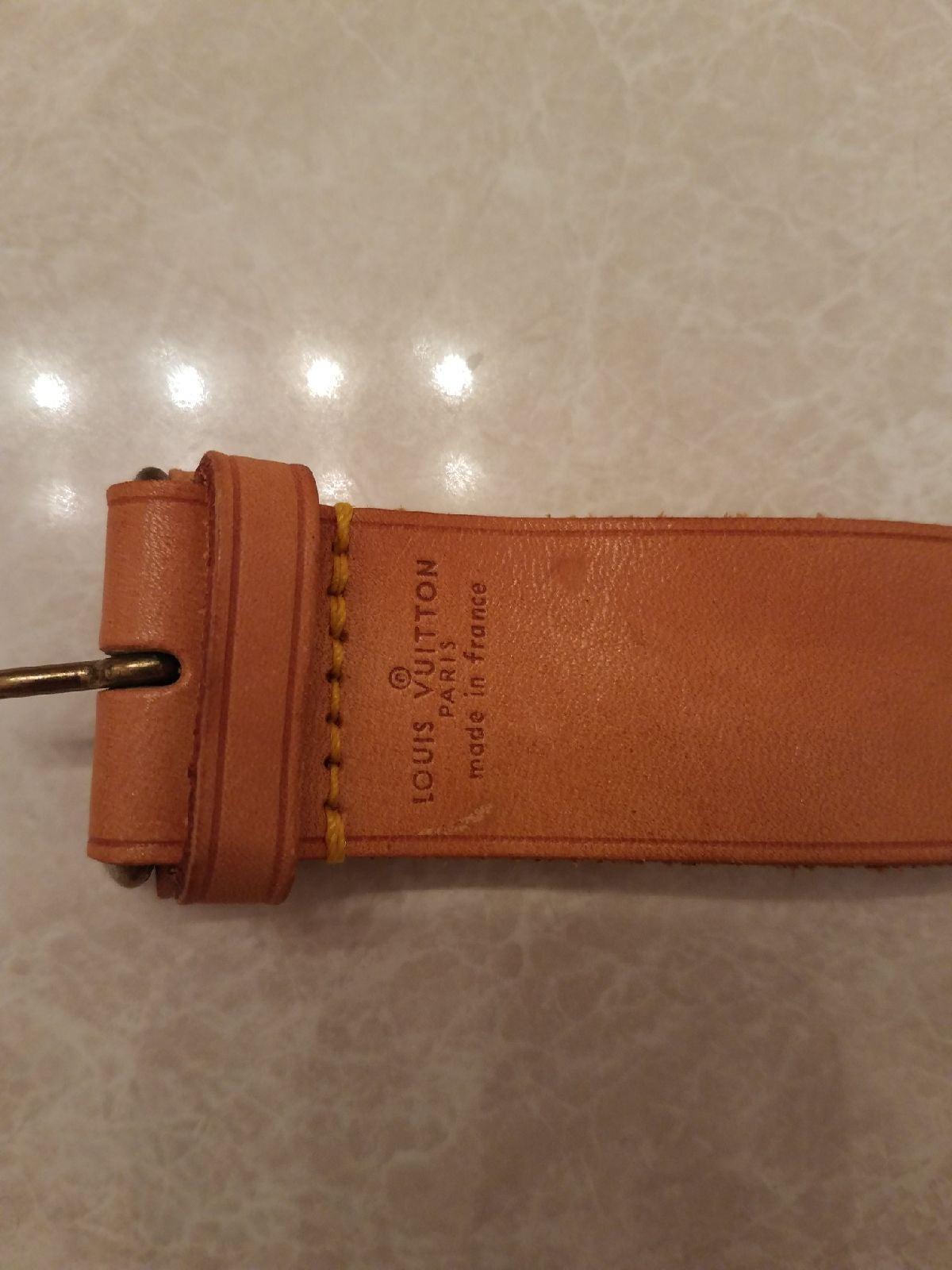 Louis Vuitton luggage tag/ bracelet