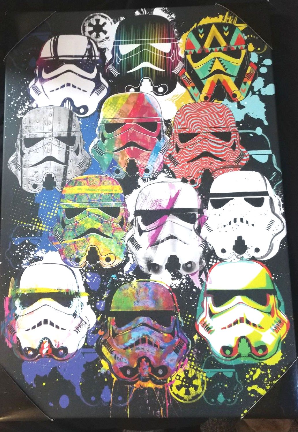 Star wars stormtrooper wall art