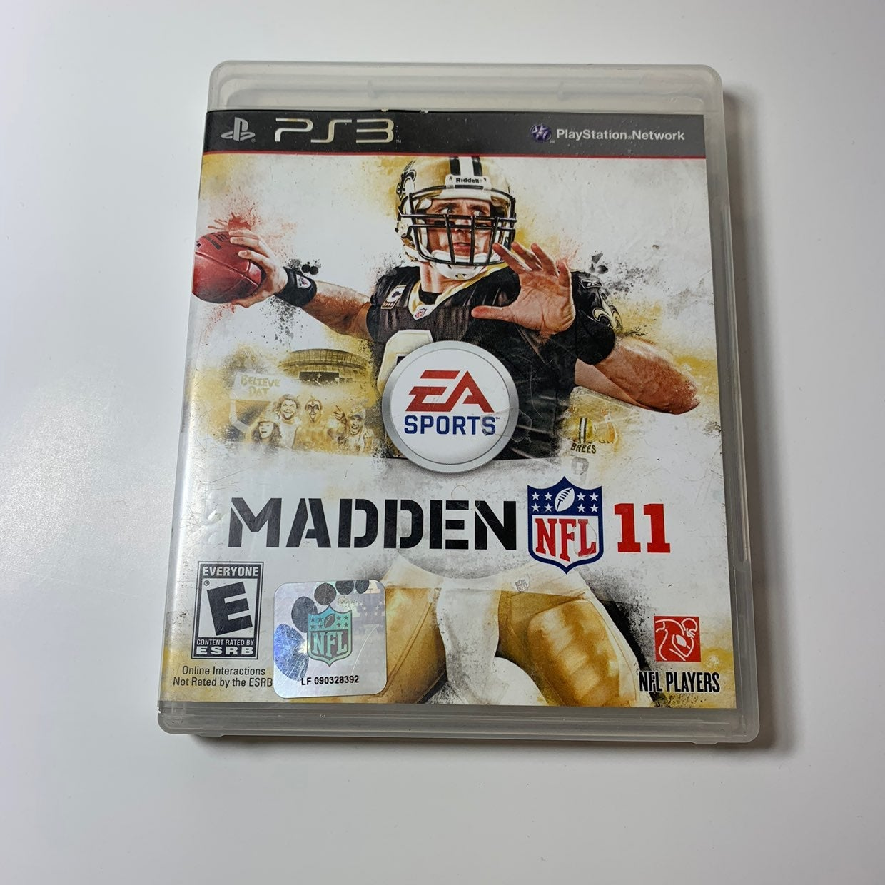 PS3 Maden NFL 11 game
