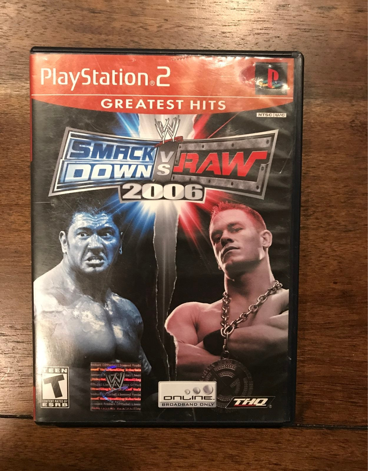 WWE SmackDown Raw 2006 ps2