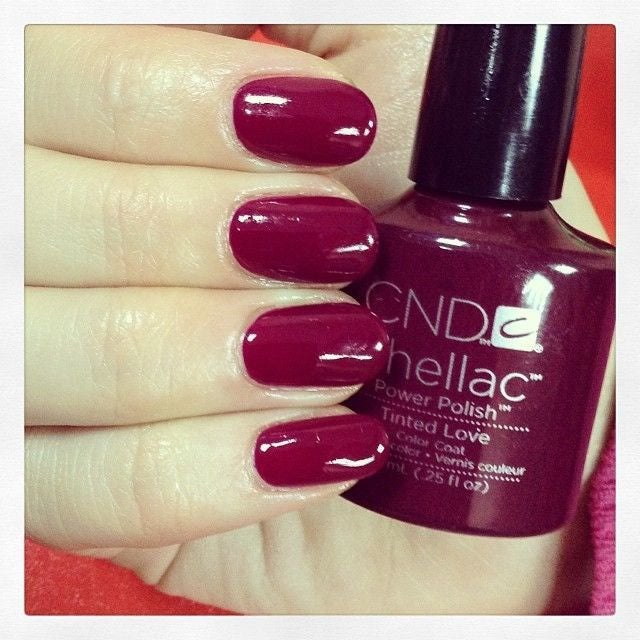 NEW CND SHELLAC GEL TINTED LOVE