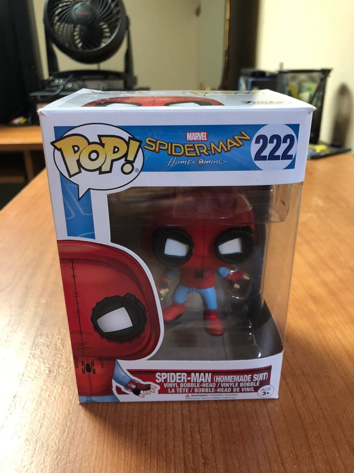 Funko Pop Spider-Man Homemade Suit