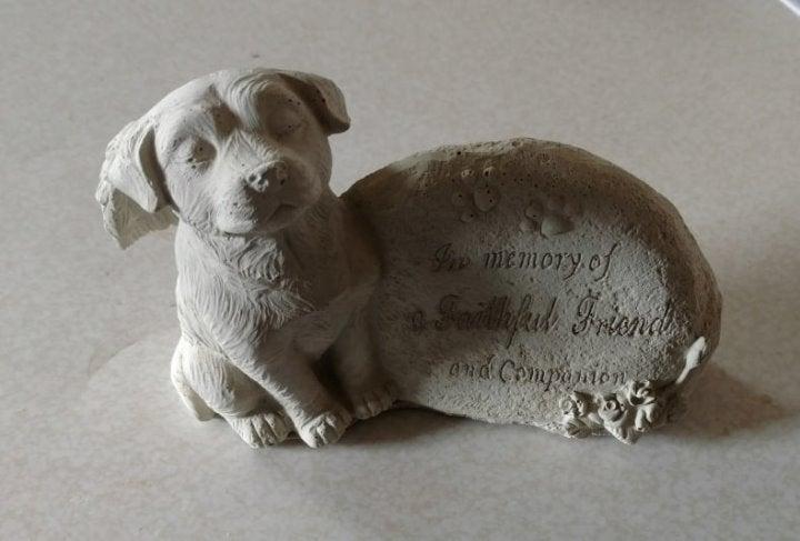 Pet Memorial stone (Unpainted)
