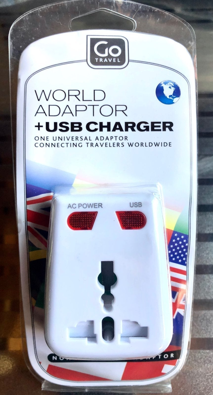 USB Charger & GLOBAL Adaptor for UK