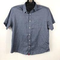 b18ea30be untuckit Men s XL Denim Blue Shirt