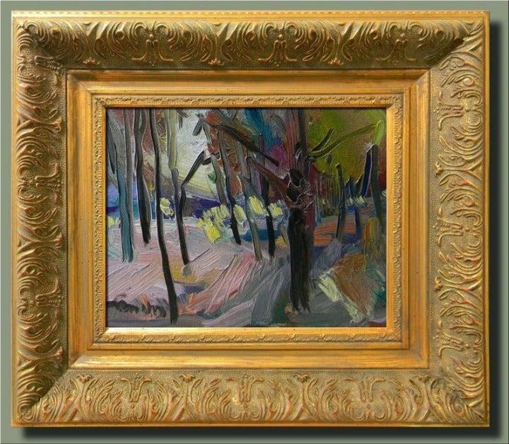 Original Framed Jose Trujillo Landscape
