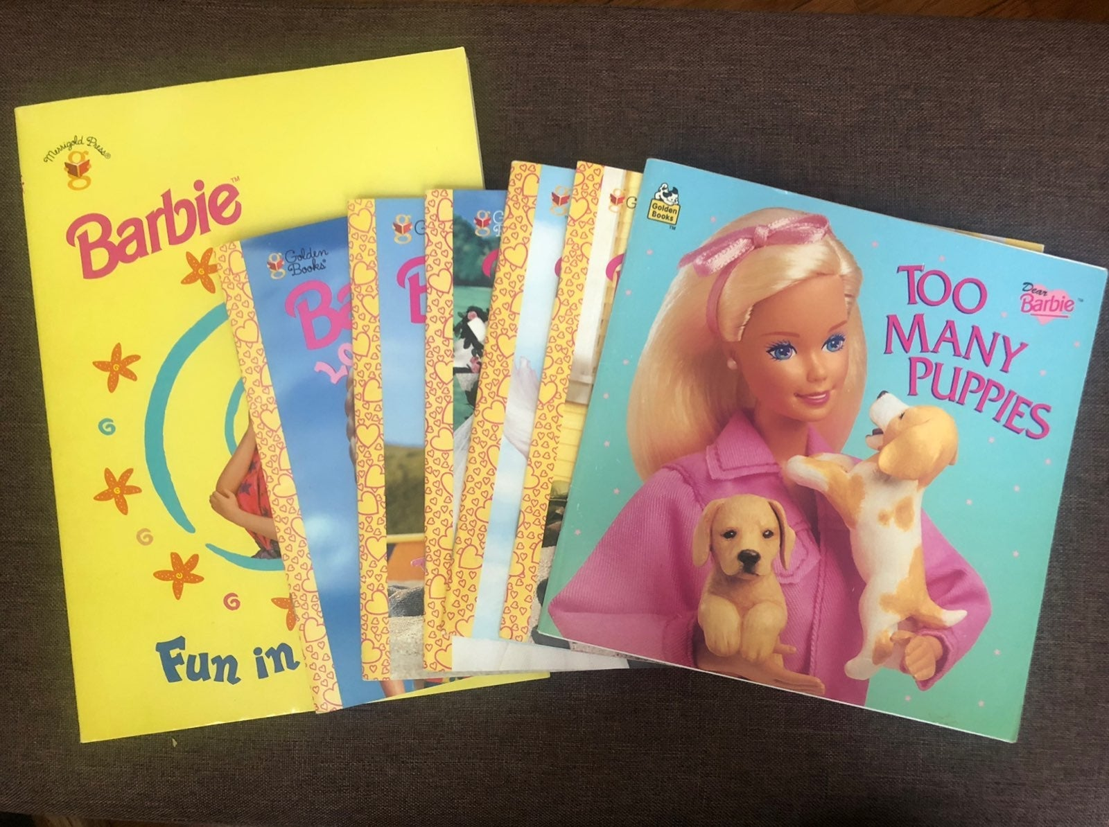 Collectible Barbie Books