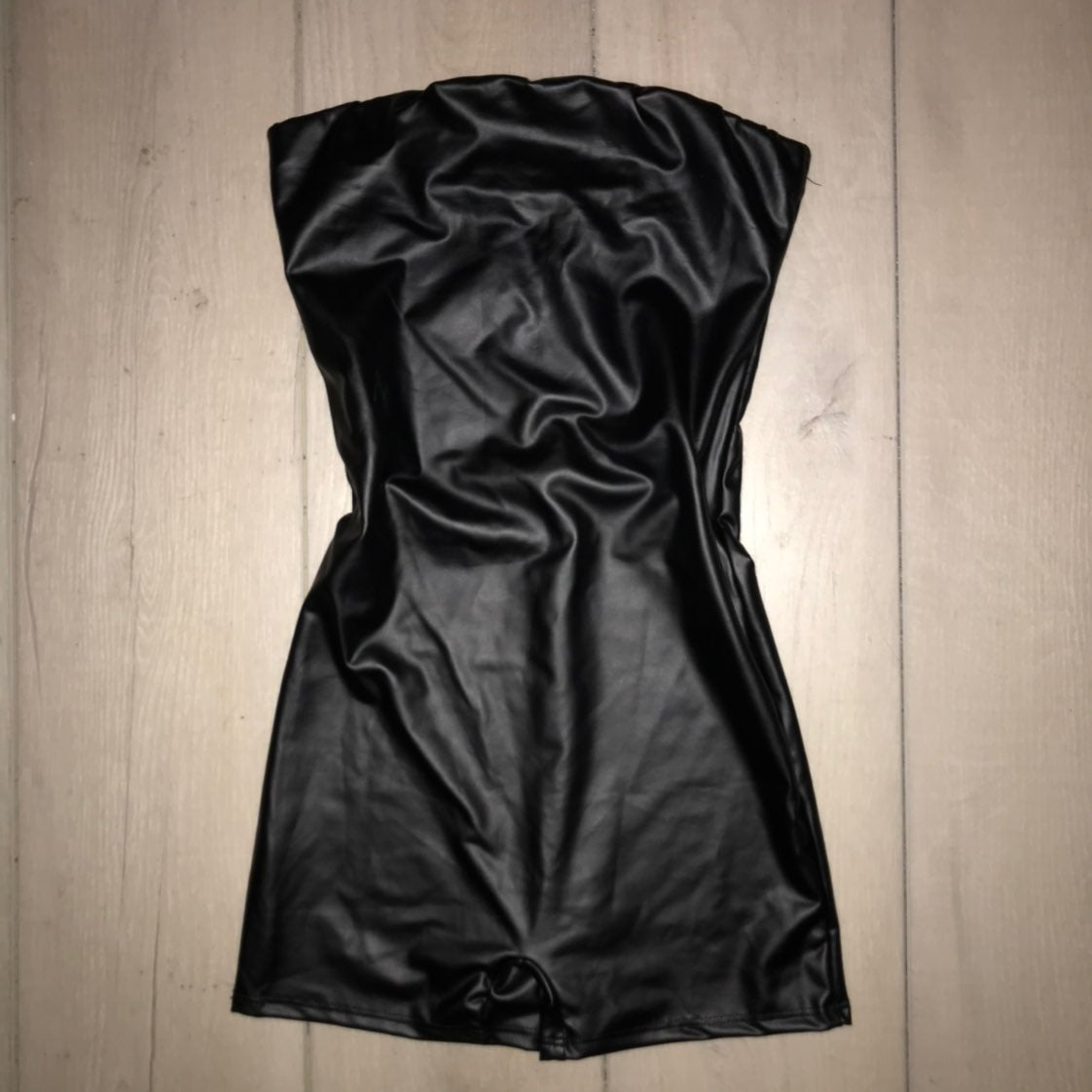 lauras Boutique pleather shorts romber