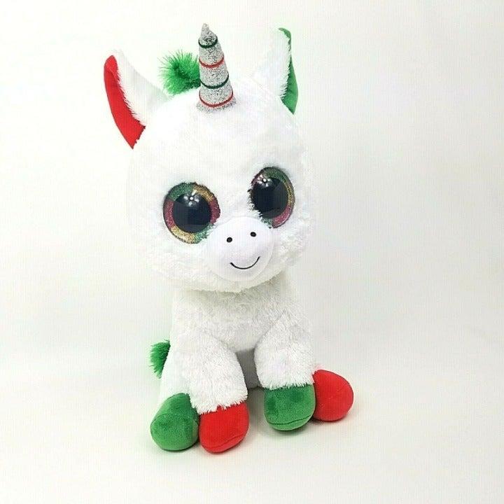 "Ty Beanie Boo Large 17"" Unicorn Candy"