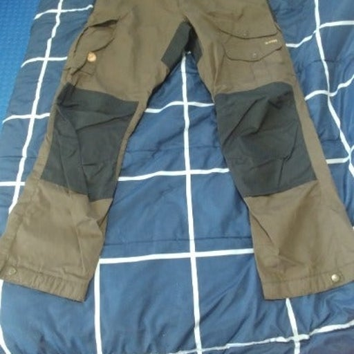 Fjällraven Vidda Pro Trousers. Olive.