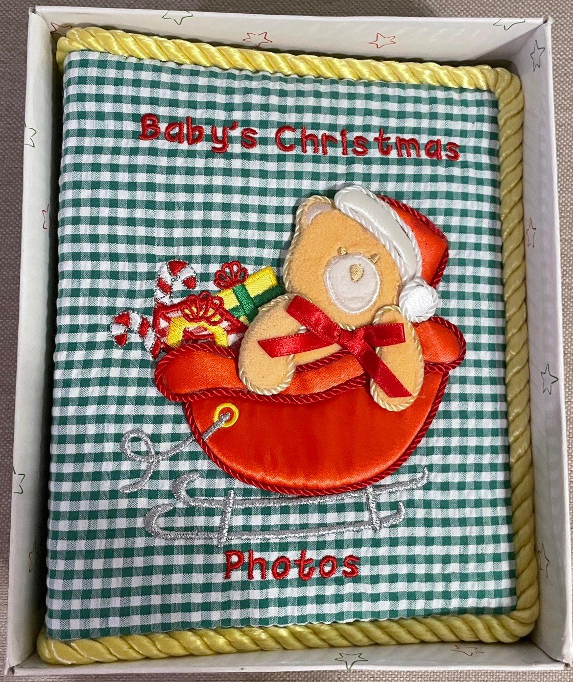Baby's Christmas Photos photo album