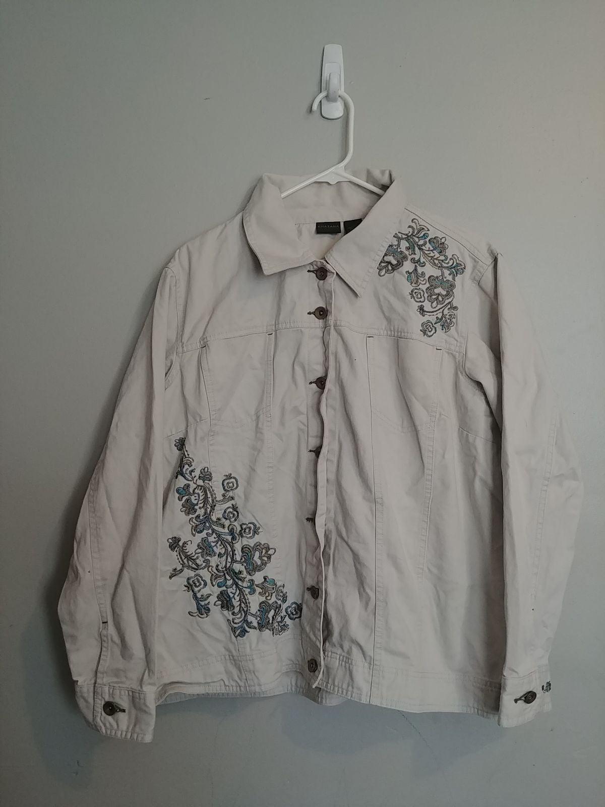Khazana Women's Jacket Size 2X