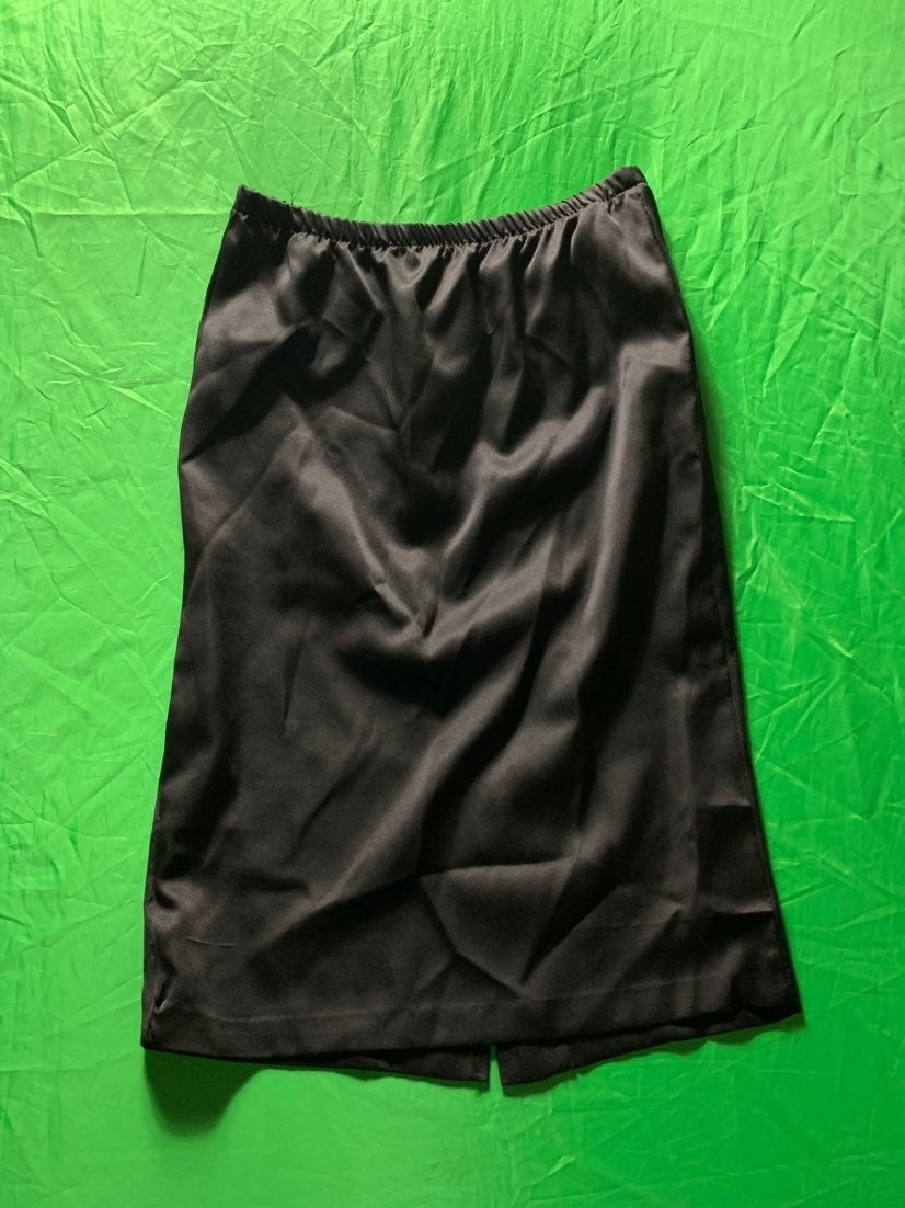 Polyester Knee Length A-Line Skirt