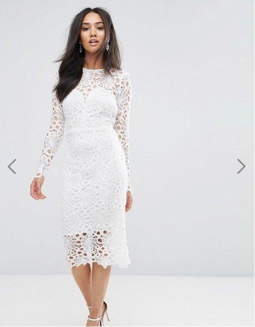 AX Paris Lace Midi Dress