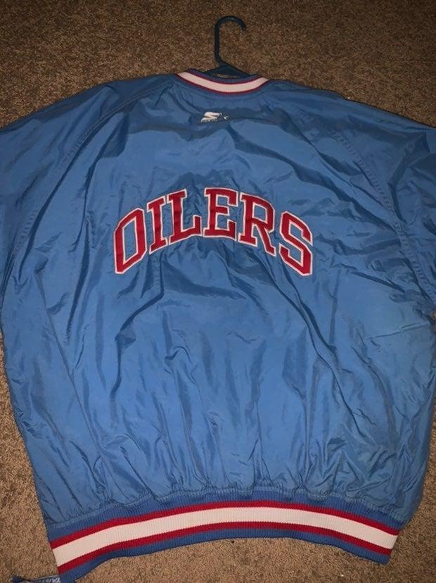 Vintage Tennessee Oilers Starter Jacket
