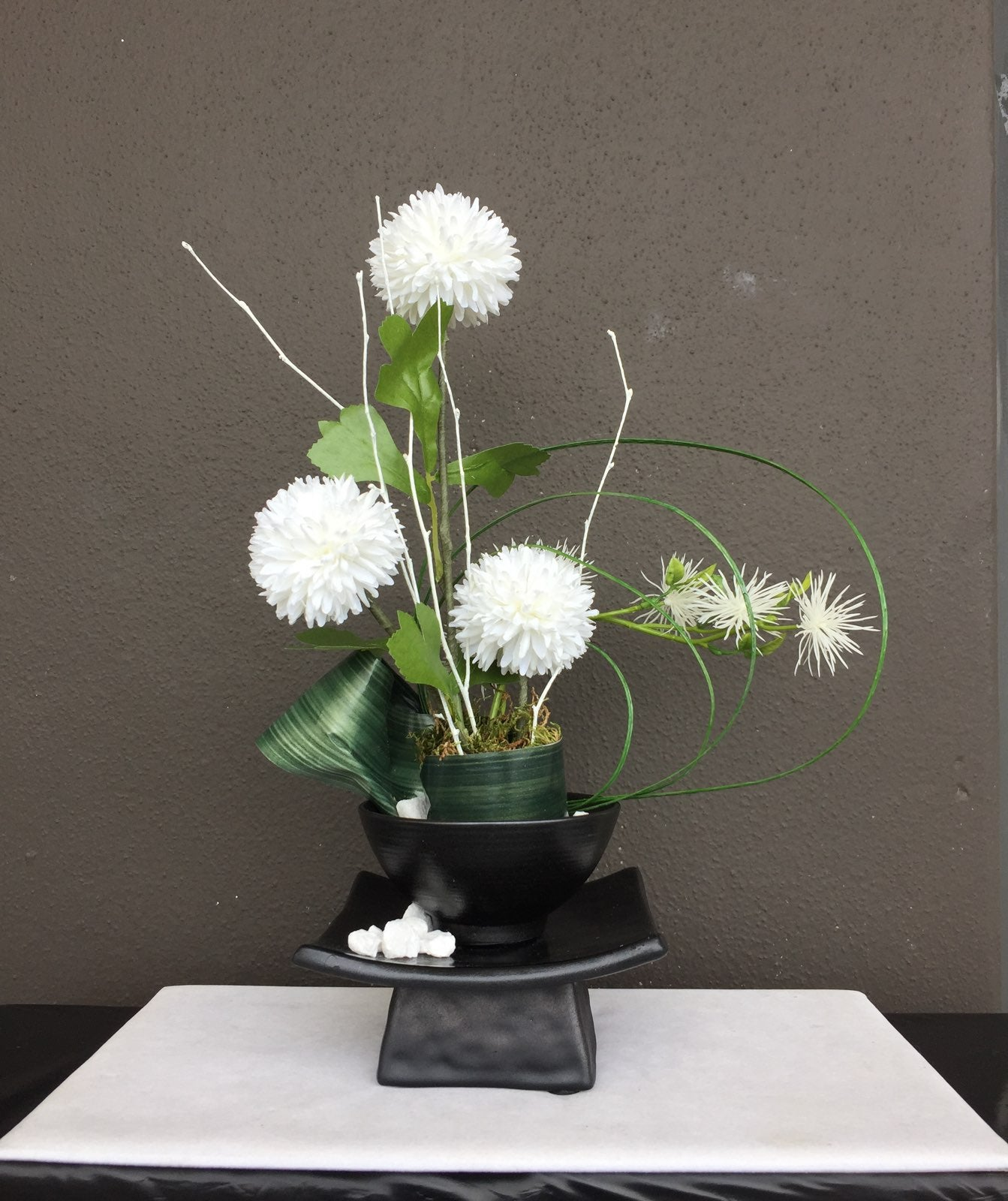Contemporary Asian Floral Arrangement