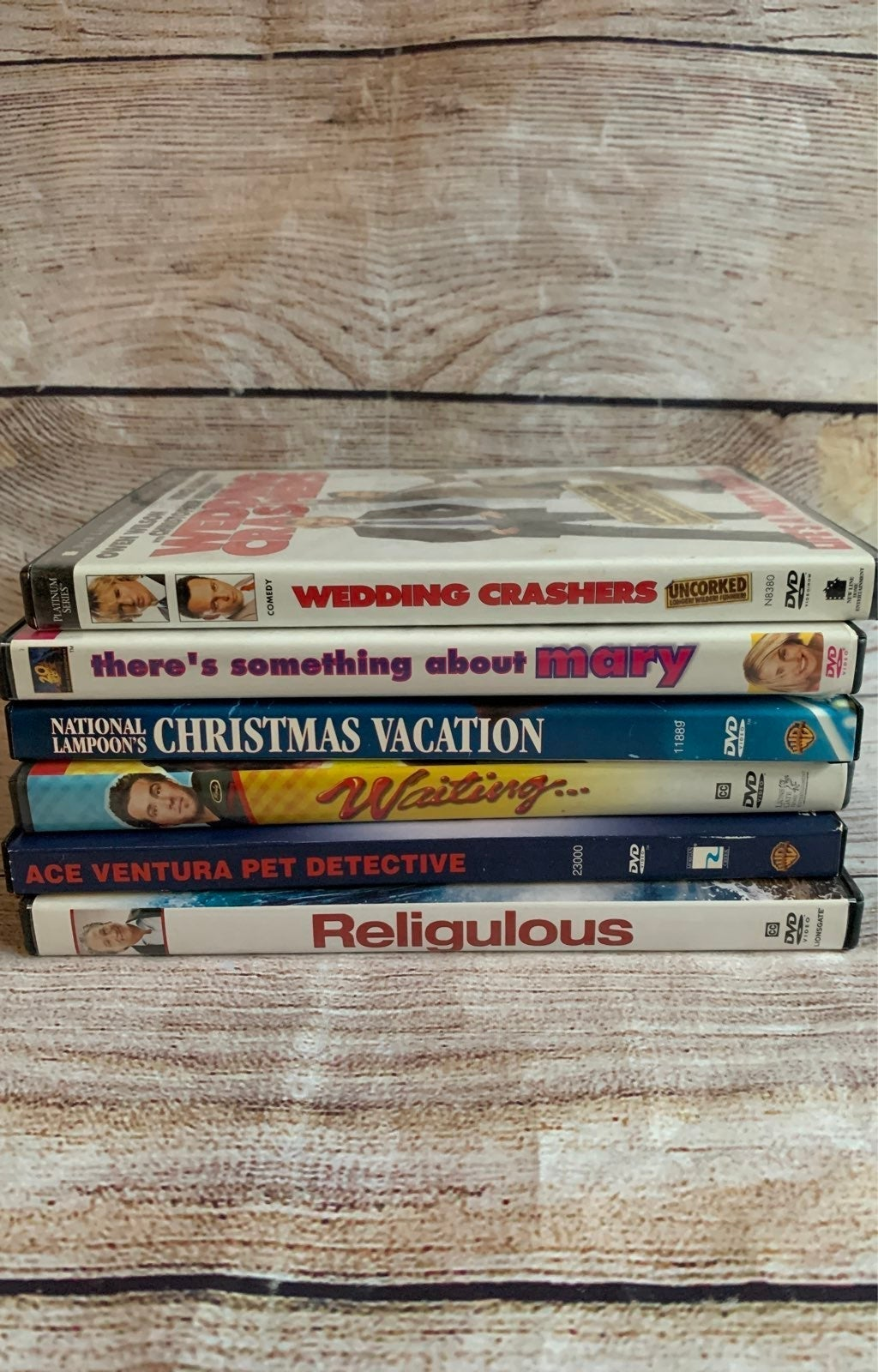Bundle of Six (6) Comedy DVDs