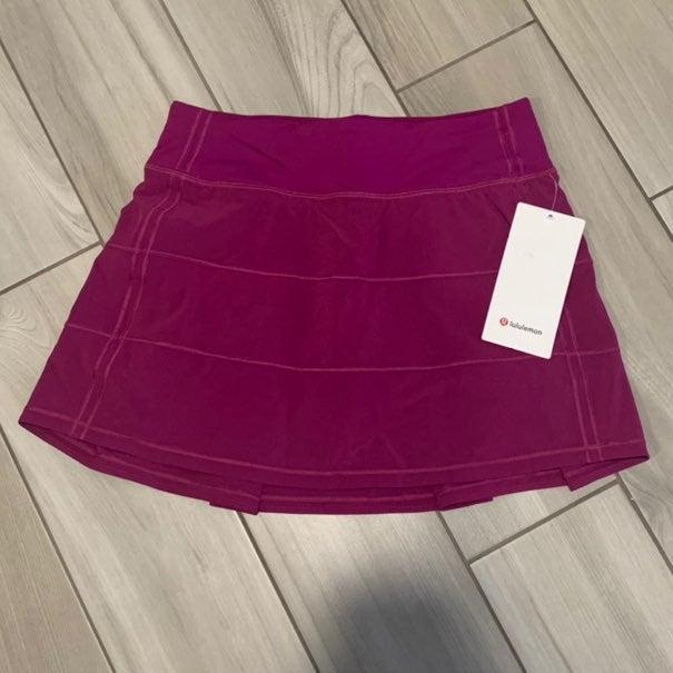 Lululemon Pace Rival Skirt Tall Fuschia